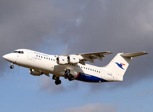 OY-RCC. Bae 146 (RJ 100) Atlantic Airways