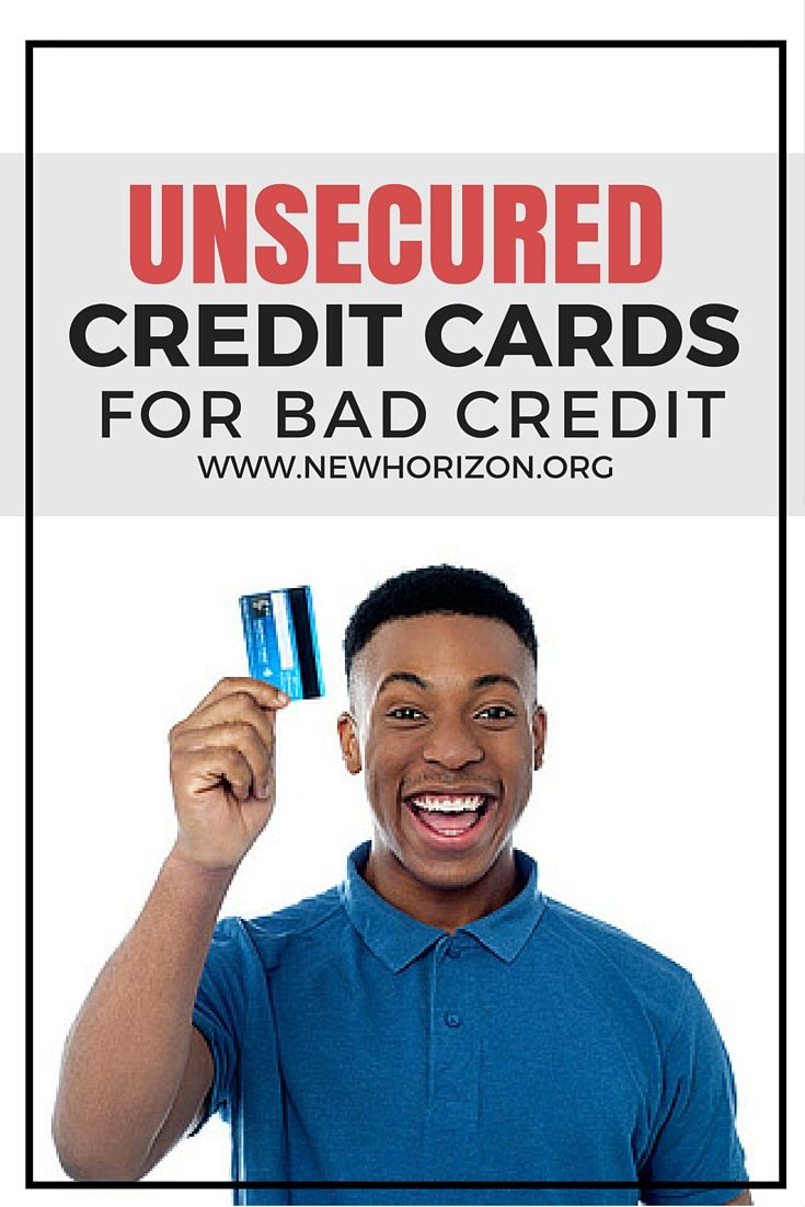 List of Unsecured Credit Cards for Bad Credit that can help you build your credit score.