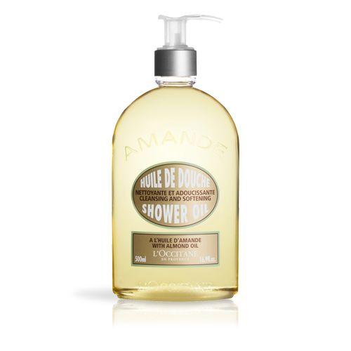 Luxury Size Almond Shower Oil