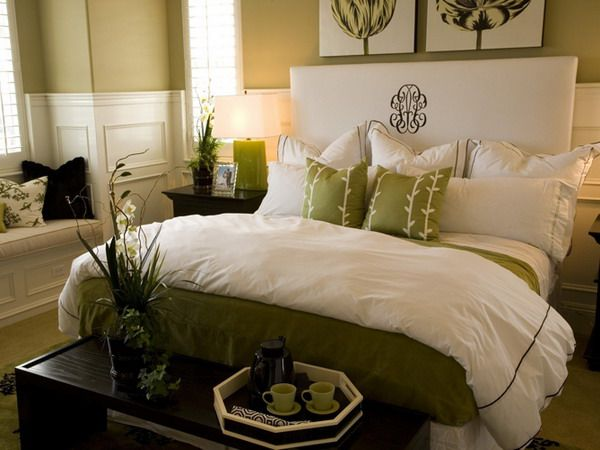 Best Green Bedroom Images On Pinterest Bedrooms Bedroom