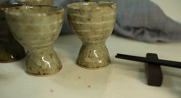made by PAN Gongjakso 물고기 새 술잔 fish and bird goblets designize@gmail.com