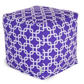 Majestic Home Goods Purple Bean Bag Chair