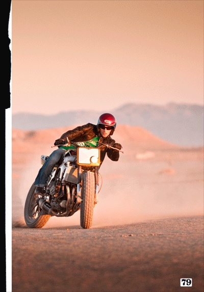 Bostrom brothers Gregg's Customs built Yamaha R1 street tracker as featured in SIDEBURN#9