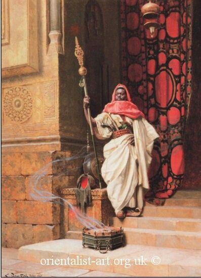 The Nubian Guard 2 by Ludwig Deutsch