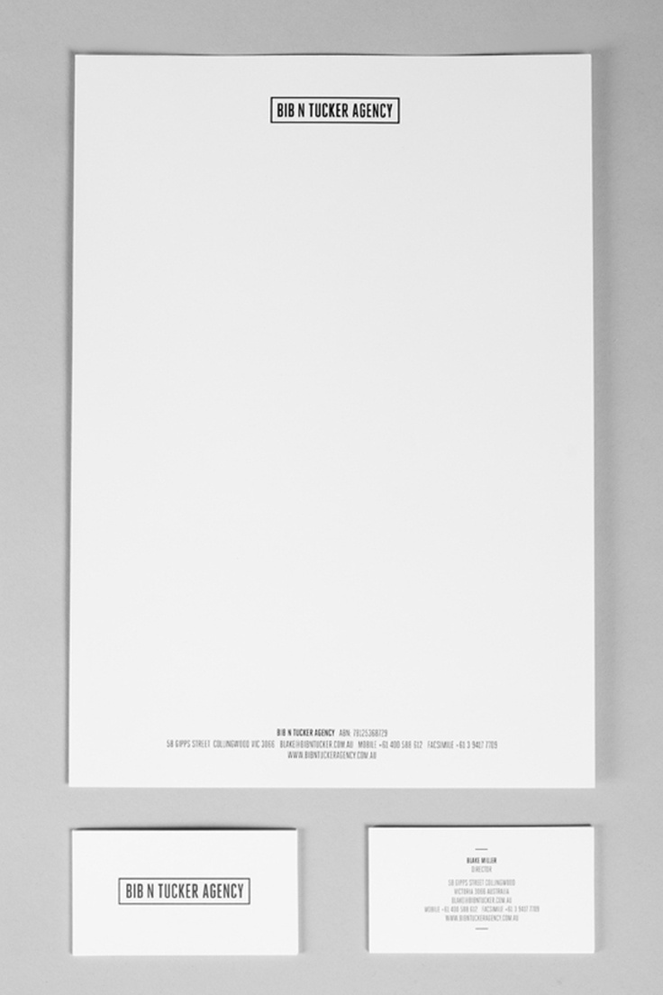 Luke Schoknecht - Graphic Designer & Creative. Bib N Tucker - Brand identity, art direction, print collateral. #lukeschoknecht #design #print