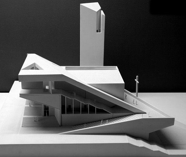 Проект Pan Long Gu Church от Atelier 11 в Китае