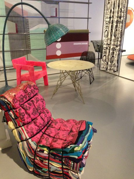 1980-2012 Voddenstoel | Tejo Remy Knotted Table | Marcel Wanders Bellflowerlamp | Studio Wieki Somers Carbon Chair | Bertjan Pot & Marcel Wanders