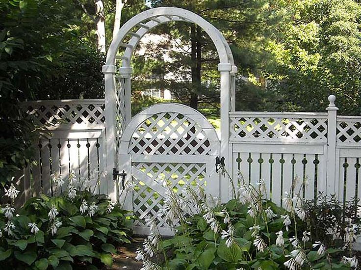 Love This Fence Design Maybe In Charcoal Rather Than