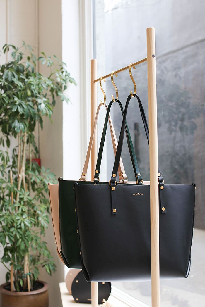 Studio Love: My Deer Fox's new leather-assembly shop, Auckland: from Fancy NZ Design Blog