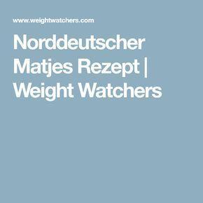 Norddeutscher Matjes Rezept | Weight Watchers