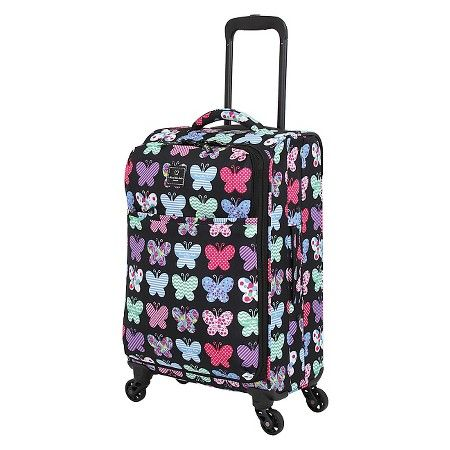 "French West Indies 20"" Cary On Spinner Luggage - Butterfly : Target"