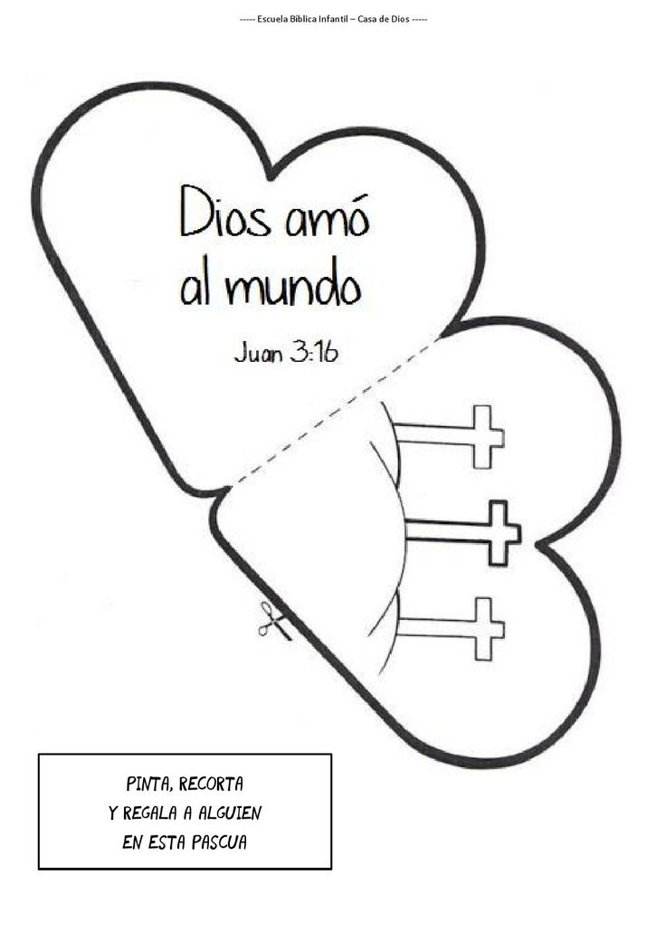 24 best Dios images on Pinterest | Sunday school, Children ministry ...