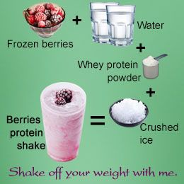 recipe for weight loss protein shakes