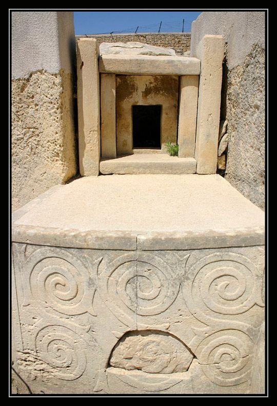 Malta Temples -Tarxien - Paola, Malta