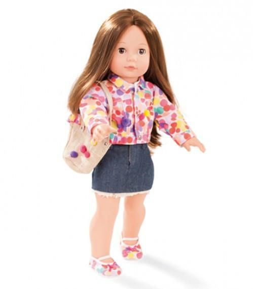 Gotz has been producing not only dolls but friends to their customers for over 60 years. The Dolls accessories are designed and developed in Germany. #toys2learn#gotz#doll#dolls#precious#day#jessica#hair#brown#brunette#long#45cm#girl#australia#