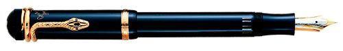 Montblanc - Agatha Christie  - 1993  Edition: 4,810 Pens  Type: Vermeil Fountain Pen