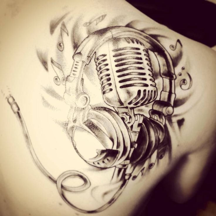music mic tattoo designs google search tattoos that i love pinterest tattoo designs. Black Bedroom Furniture Sets. Home Design Ideas