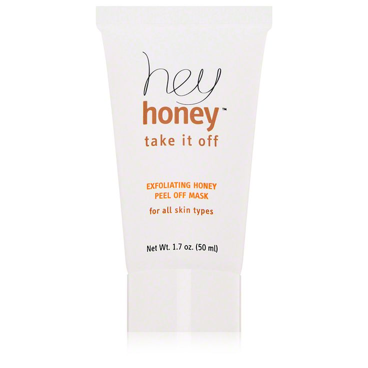 Exfoliating Honey Peel Off Mask   Honey Beauty Treatment - this mask does seem to bring any underlying pimples to the surface but it's a necessary evil to get all that gunk out of your face which it definitely does.  Plus it's super fun to peel off!
