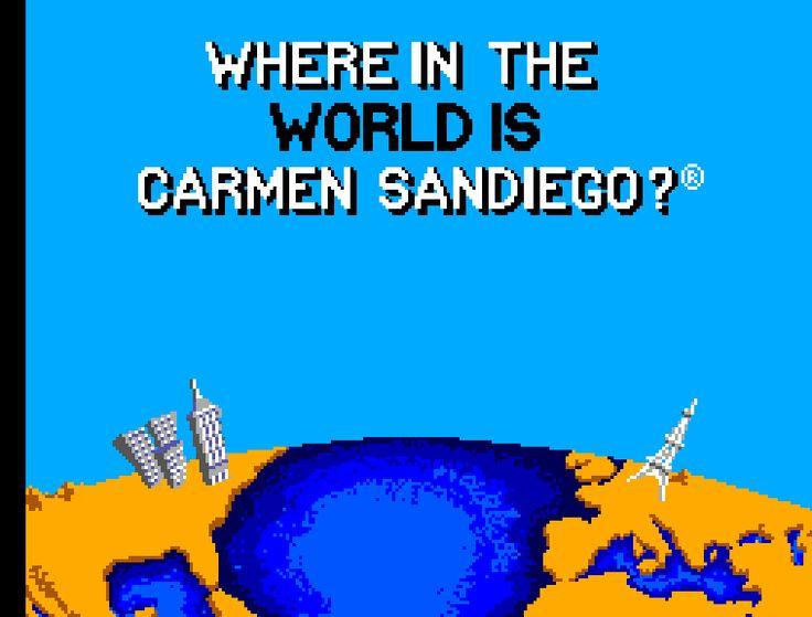 "Where in the world is the ""Where in the World is Carmen Sandiego"" iPhone app?! :)"