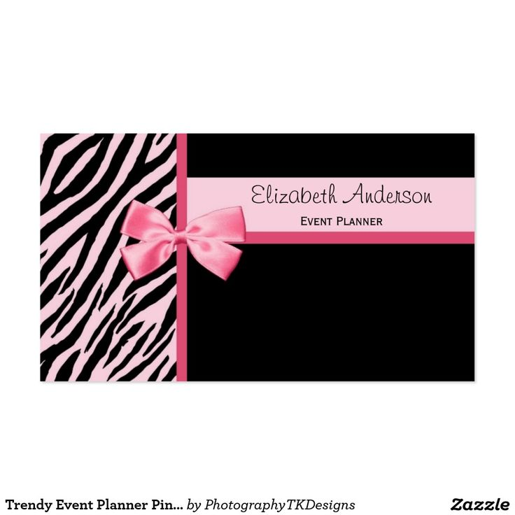 22 best Business Cards Ideas - Pink and Black images on Pinterest ...
