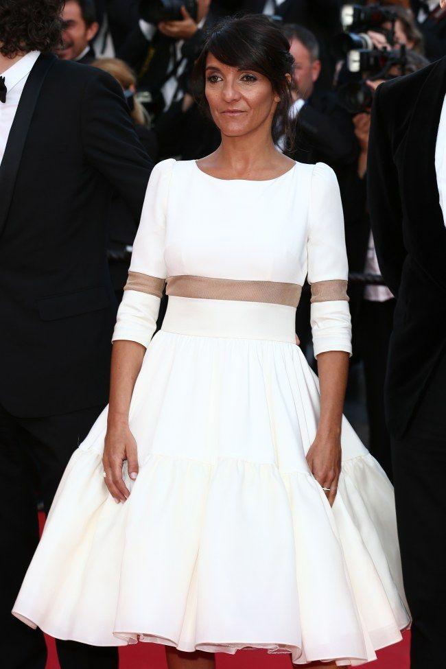 Florence Foresti en robe Delphine Manivet, lors de la cérémonie des Césars 2014, à Cannes.