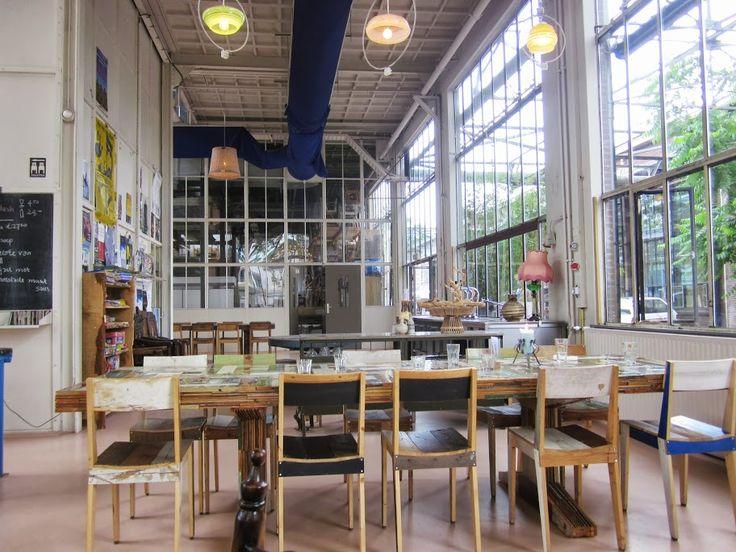 Piet Hein Eek Restaurant, Eindhoven  http://www.pietheineek.nl/nl/restaurant