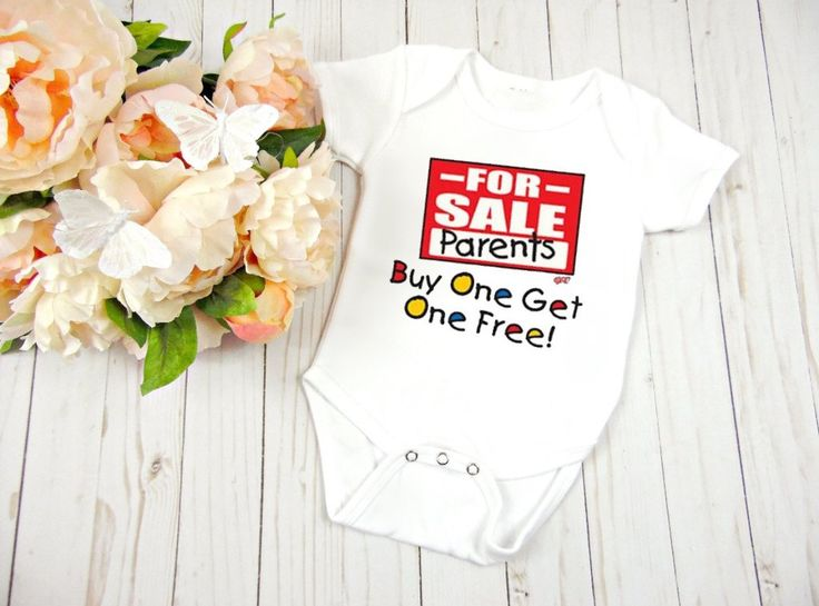 Funny For Sale Parents Baby Clothes, Baby Shower Gift, Birthday Gift,                      – Personalized Baby Clothing