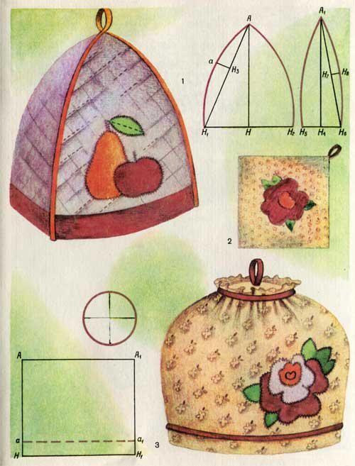 Сувениры из лоскутов