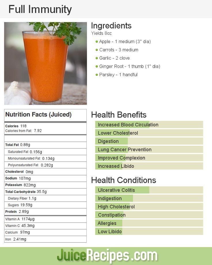 Full Immunity | Apple, Carrot, Ginger, Garlic, Parsley