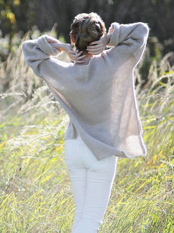 Beige Dream - Oversize Sweater Light, etherical, just like a dream ;-)