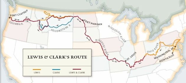 Maps - Lewis and Clark
