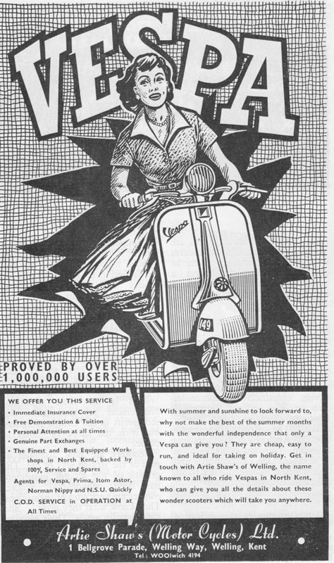 Douglas Vespa Advert