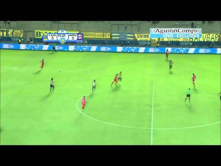 Caño de Riquelme vs Franco Niell HD Semis.Copa Argentina 2014(Argentinos...