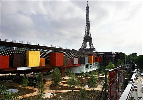 Musée du Quai Branly 37 Quai Branly 75007 Paris sur TV Invalides