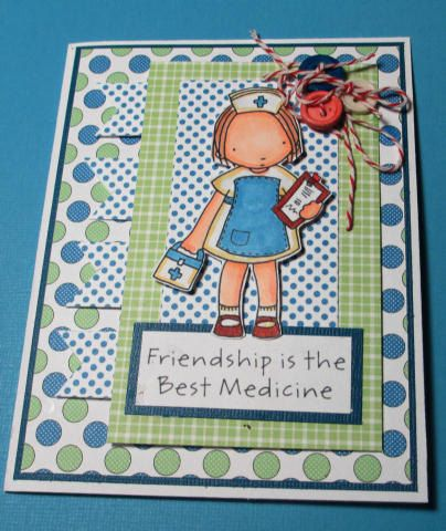 Get Well Soon Friend Handmade Card by LoveInBloomCreations on Etsy, $3.00