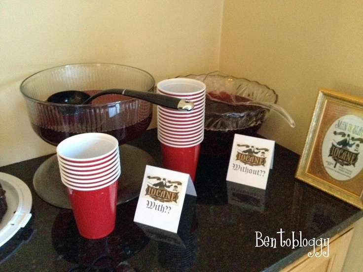 Bentobloggy: Princess Bride Party punch with, or without, iocain.