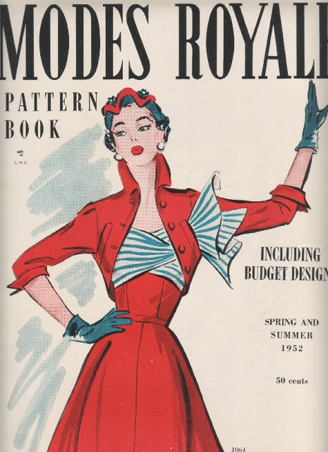 The Modes Royale Spring/Summer 1952 pattern catalogue.