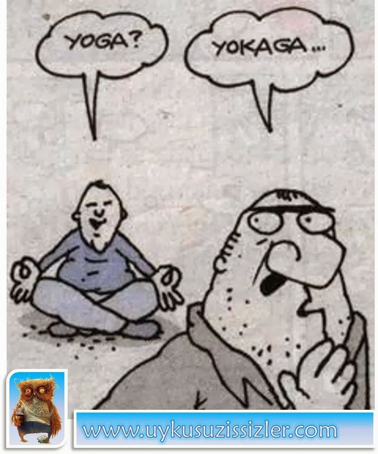 Karikatür: Yoga Yokaga..