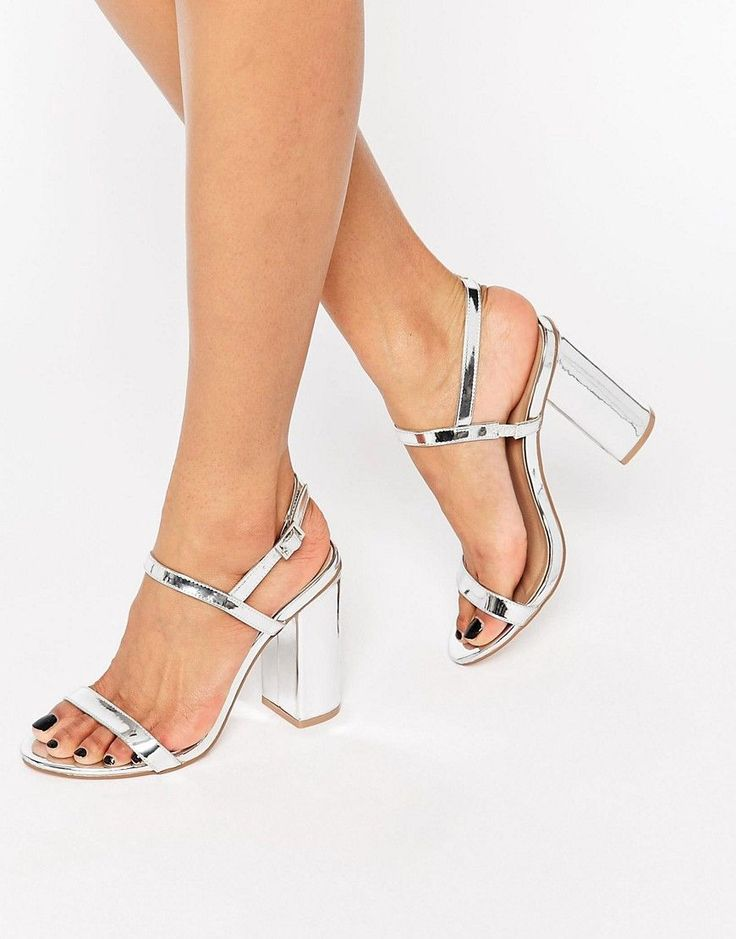Image 1 of ASOS HELLO Heeled Sandals