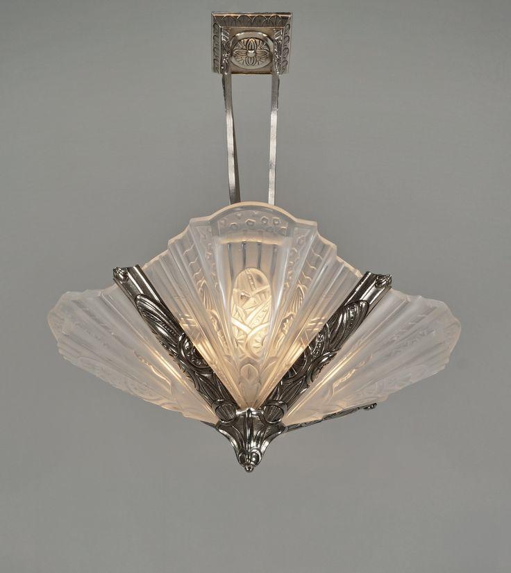 83 best luminaire art deco images on pinterest light. Black Bedroom Furniture Sets. Home Design Ideas