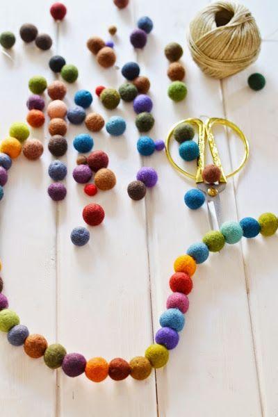 M s de 25 ideas incre bles sobre guirnalda de bola de - Bolas transparentes para decorar ...