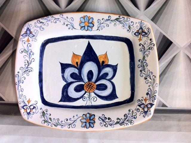Palmetta Persiana   Ceramiche Rinascita