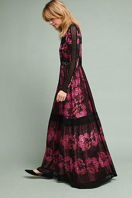 Cecilia Prado Rose Sweater Maxi Dress #ad