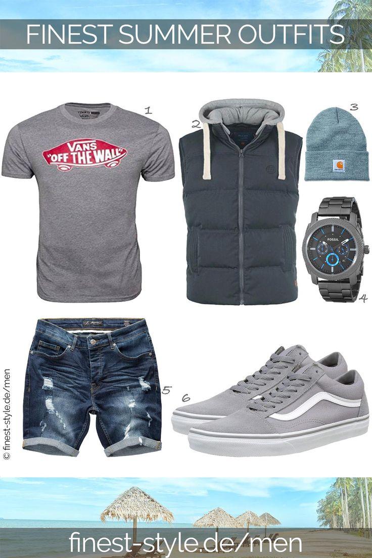 Cooles Outfit für Männer kombiniert mit Teilen von Fossil, Carhartt, Blend, Va… – finest-style.de-Outfits