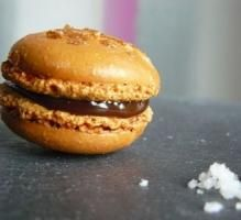 Recette - Macarons caramel au beurrre salé - Proposée par 750 grammes