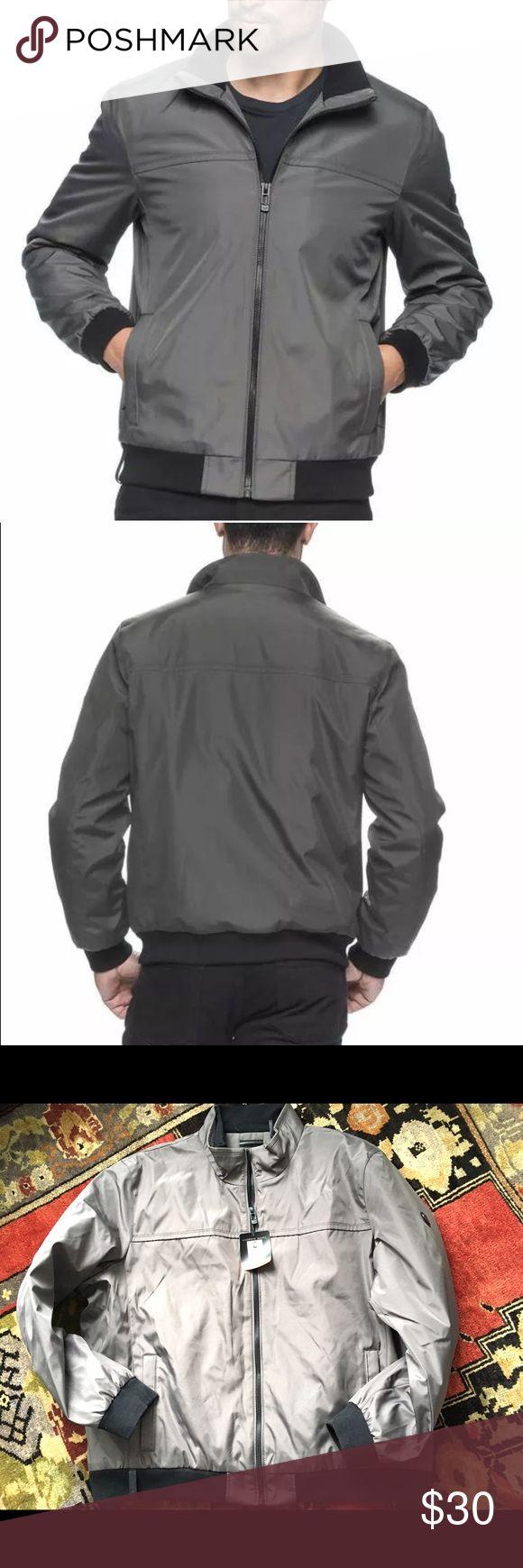 Andrew Marc Mens winter bomber XXL New with tags, dark chromium color, Mens XXL Andrew Marc Jackets & Coats Bomber & Varsity
