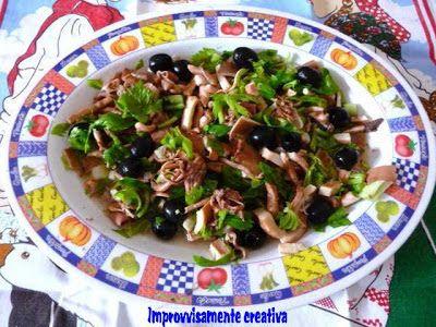 Improvvisamente...creativa!: 52 W.P. 19.a settimana: Tutto mare!insalata di polpo patate e sedano.