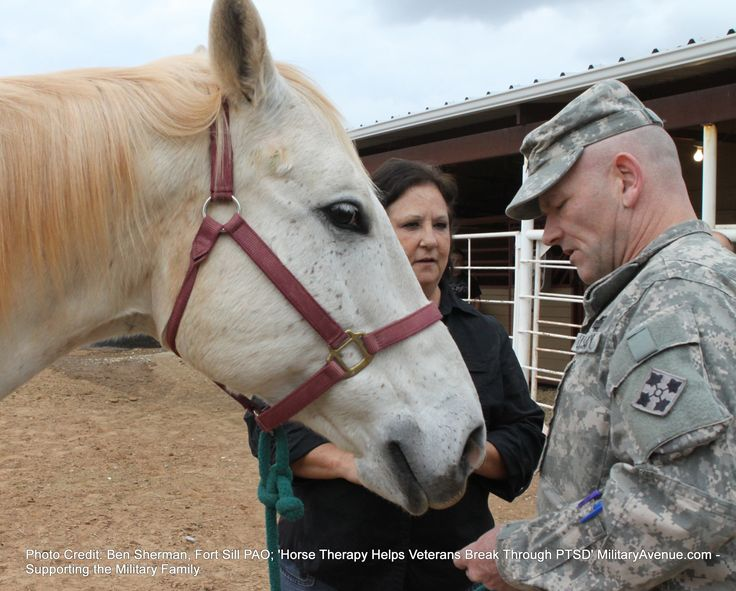 Horse Therapy Helps Veterans Break Through PTSD  Another reason for why I can't wait to start my hippotherapy program!!!!!!!!!!!