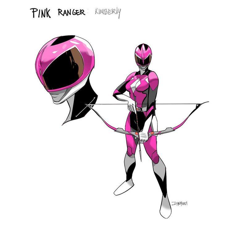 MMPR Pink Ranger Redesign by Dan Mora Chaves | That helmet is sickenin!!! 10 across the board!!! #∆∆shani