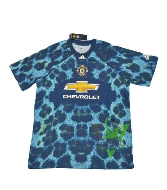 quality design 7efa8 6ae15 Manchester United F.C. Football club Short Sleeve 4TH Kit EA ...